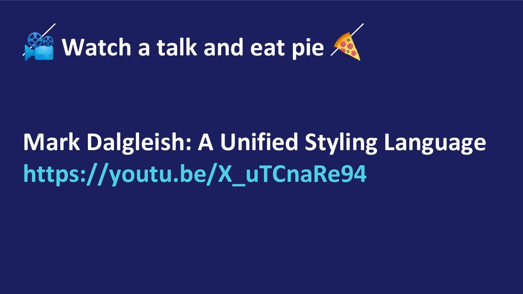 Watch a talk and eat pie  Mark Dalgleish: A Un...