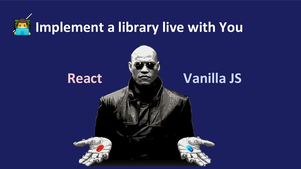 ‍ Implement a library live with You React Vanil...