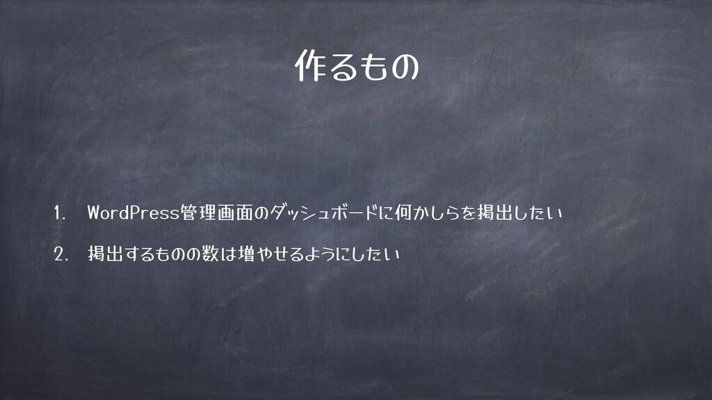 作) WordPress管理画面 何! 掲出 掲出 ) 数 増 )