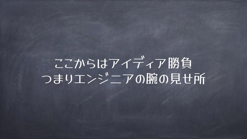 ! 」 勝負 ( ( 腕 見 所