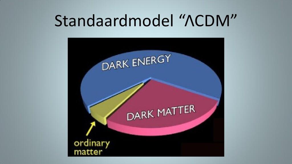 "Standaardmodel ""ΛCDM"""