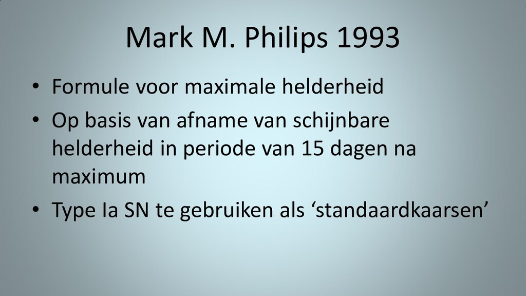 Mark M. Philips 1993 • Formule voor maximale he...