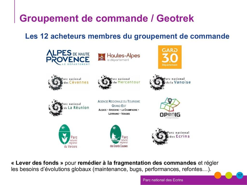 17 Parc national des Ecrins Groupement de comma...