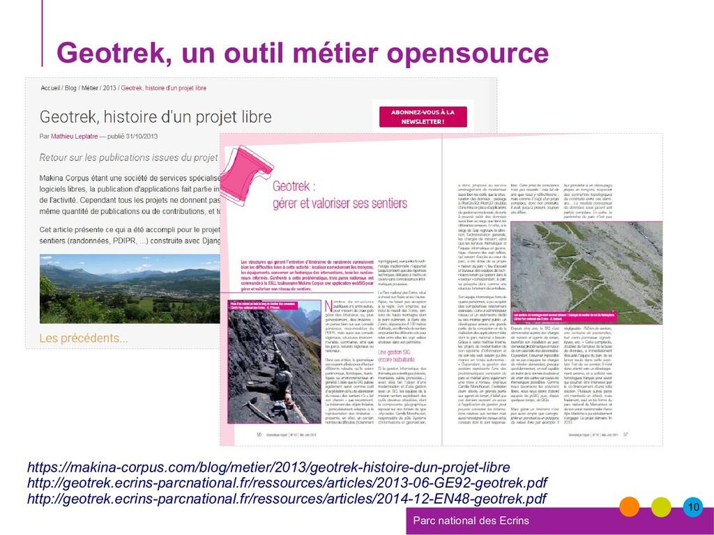 10 Parc national des Ecrins Geotrek, un outil m...