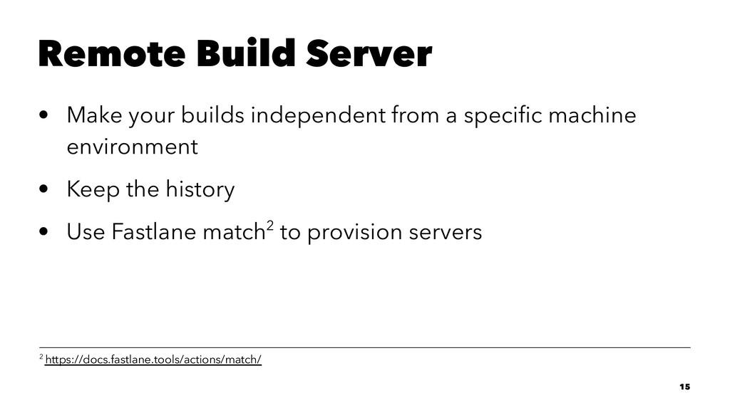 Remote Build Server • Make your builds independ...