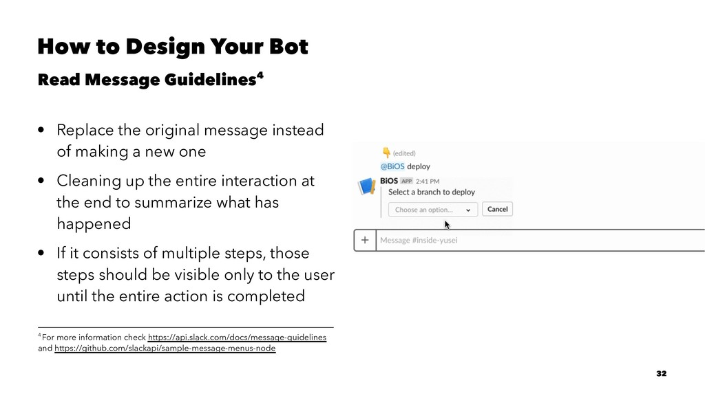 How to Design Your Bot Read Message Guidelines4...