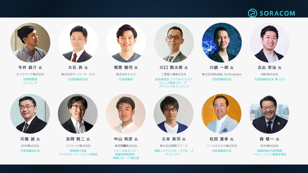 TODO Discovery 2020 ONLINE の 面々