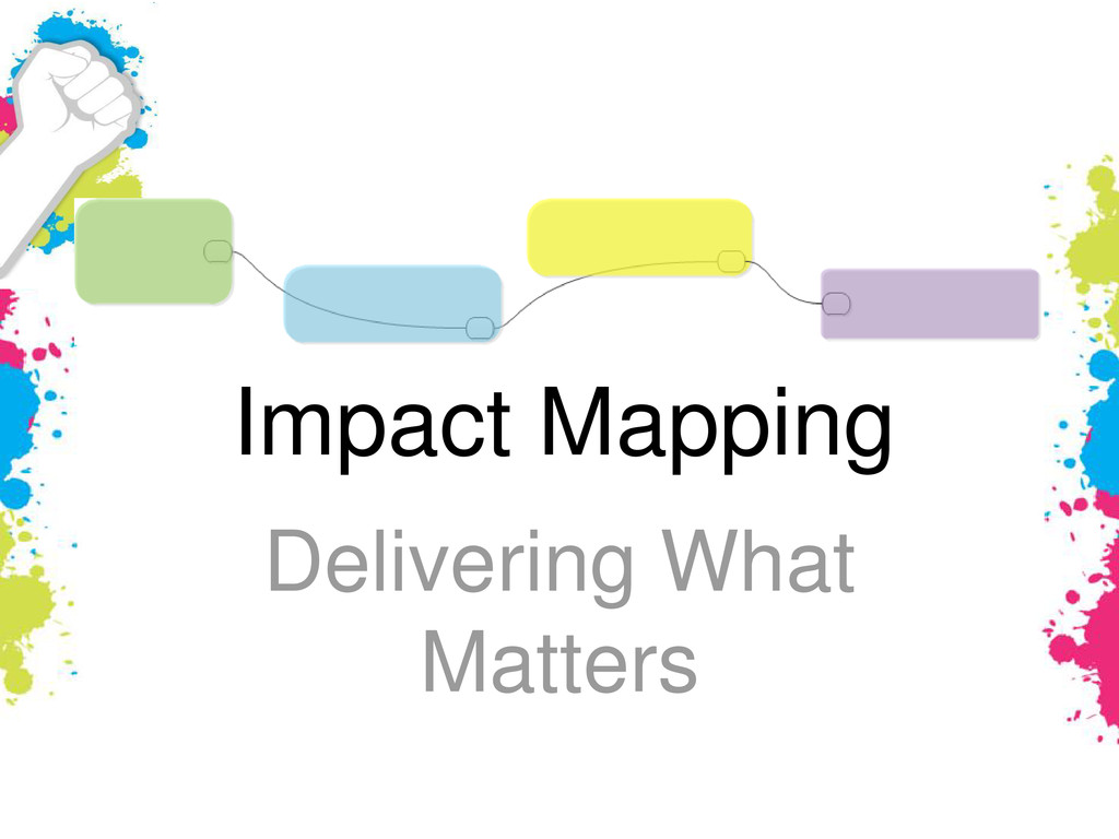 Impact Mapping Delivering What Matters