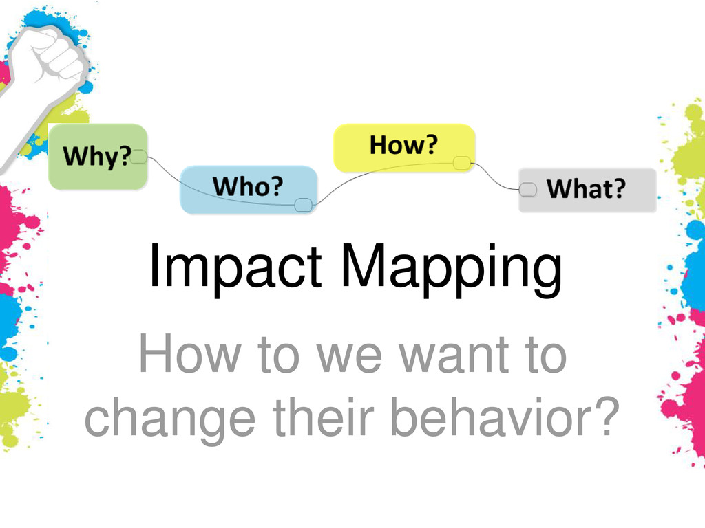 Impact Mapping How to we want to change their b...