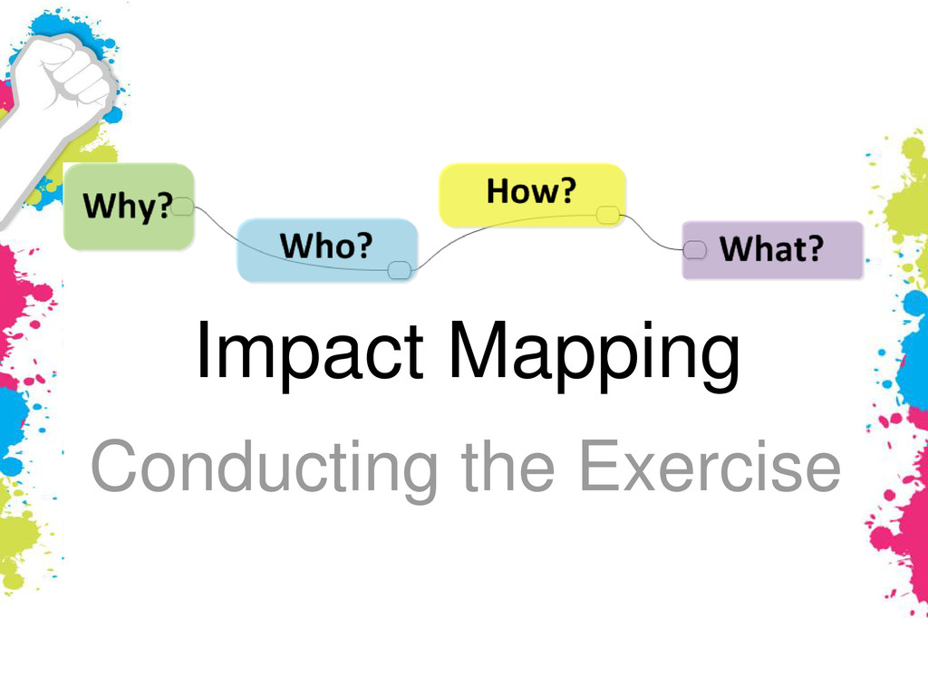 Impact Mapping Conducting the Exercise