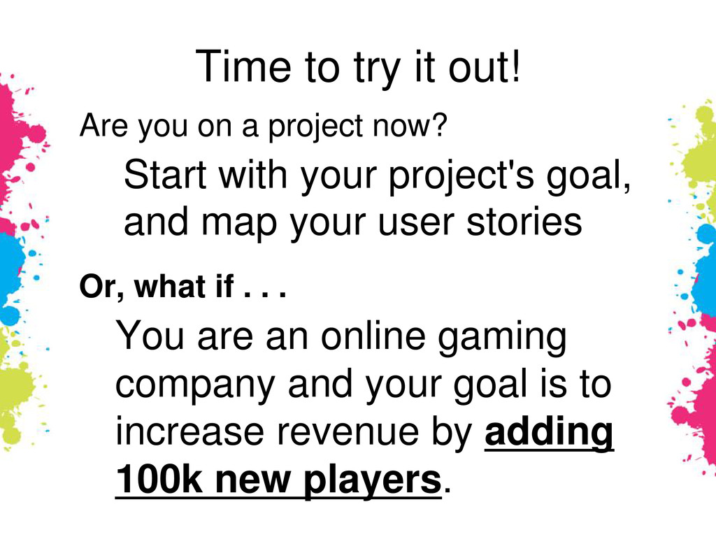 Time to try it out! Are you on a project now? S...