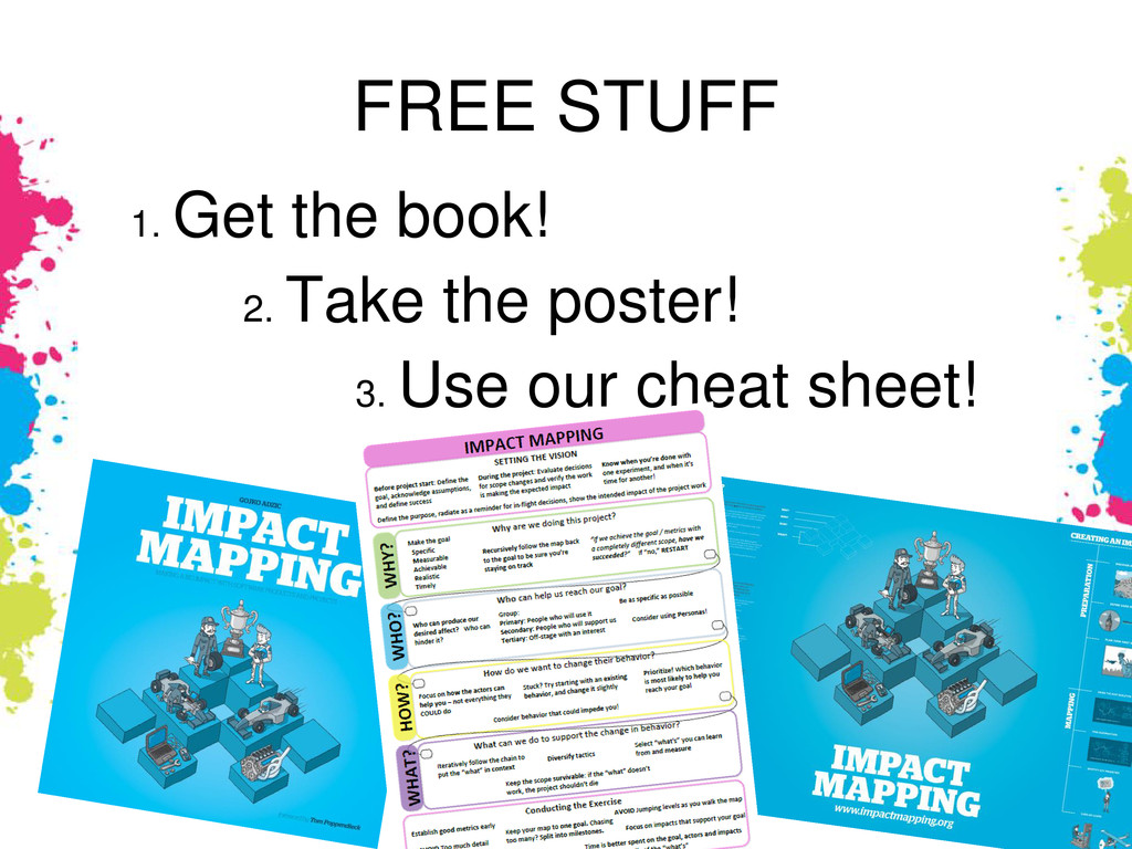FREE STUFF 1. Get the book! 2. Take the poster!...