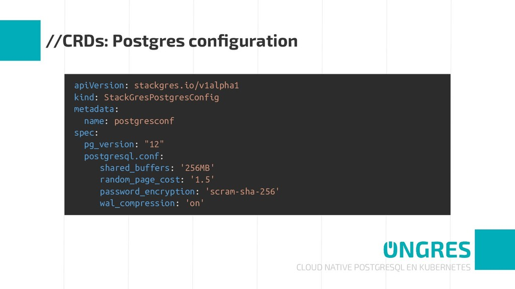 CLOUD NATIVE POSTGRESQL EN KUBERNETES //CRDs: P...