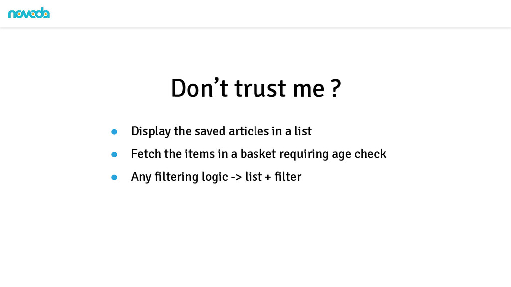 ● Display the saved articles in a list ● Fetch ...