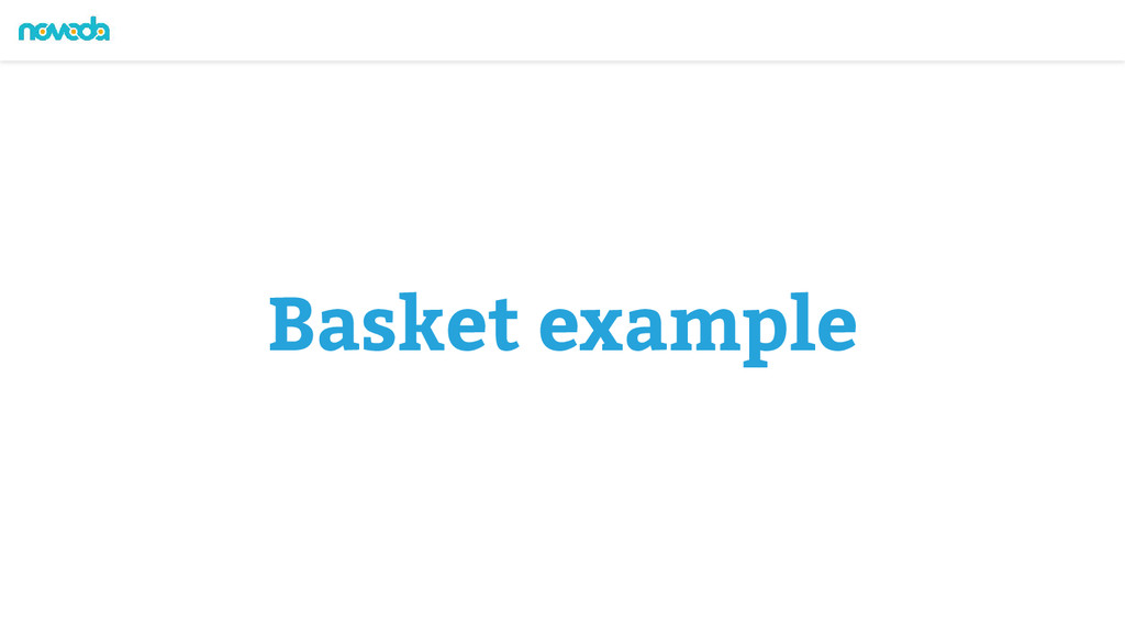 Basket example