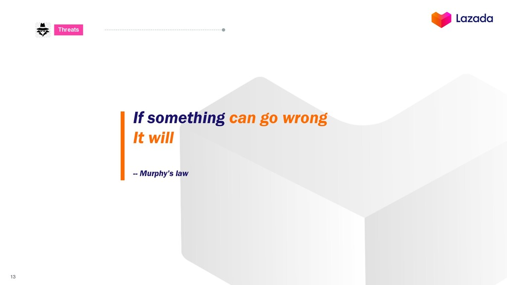 13 If something can go wrong It will -- Murphy'...