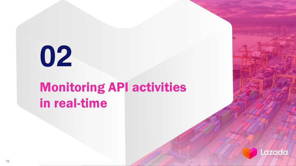 02 Monitoring API activities in real-time 15