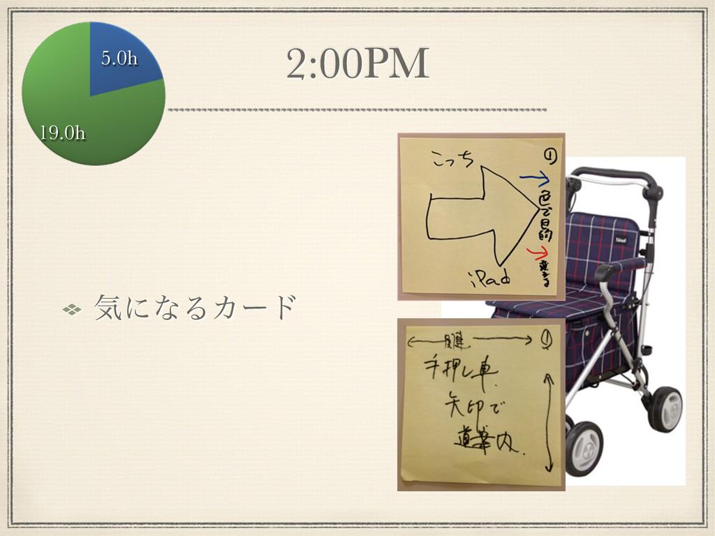 2:00PM ؾʹͳΔΧʔυ 5.0h 19.0h