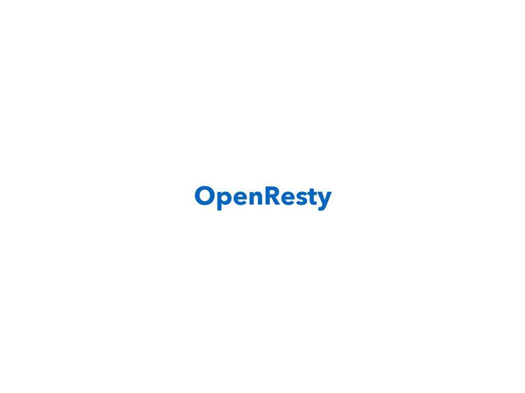 OpenResty