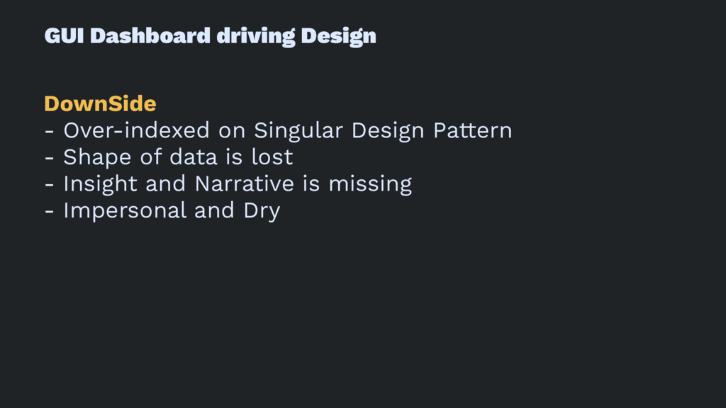 GUI Dashboard driving Design DownSide - Over-in...