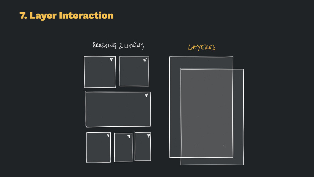 7. Layer Interaction