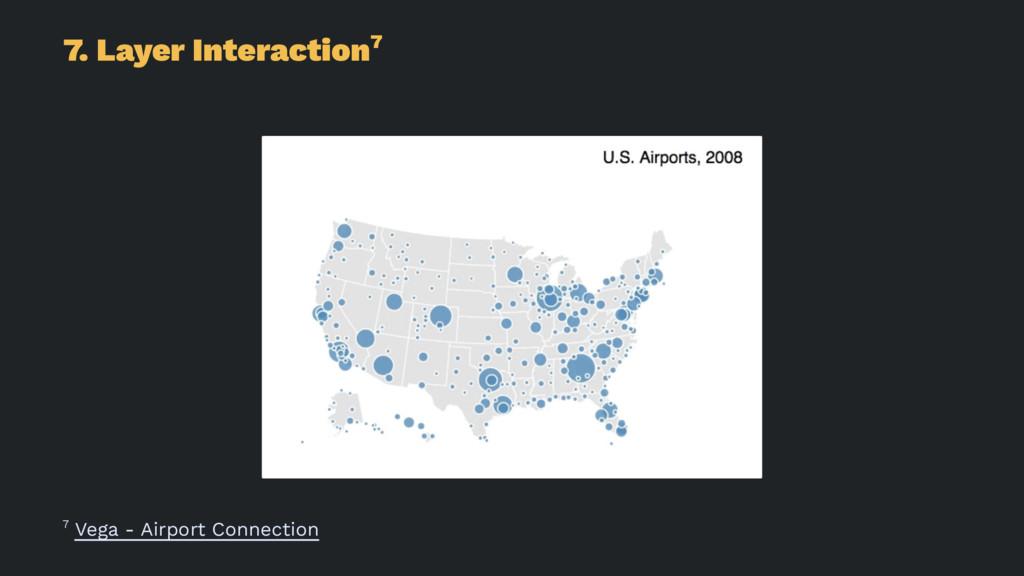 7. Layer Interaction7 7 Vega - Airport Connecti...
