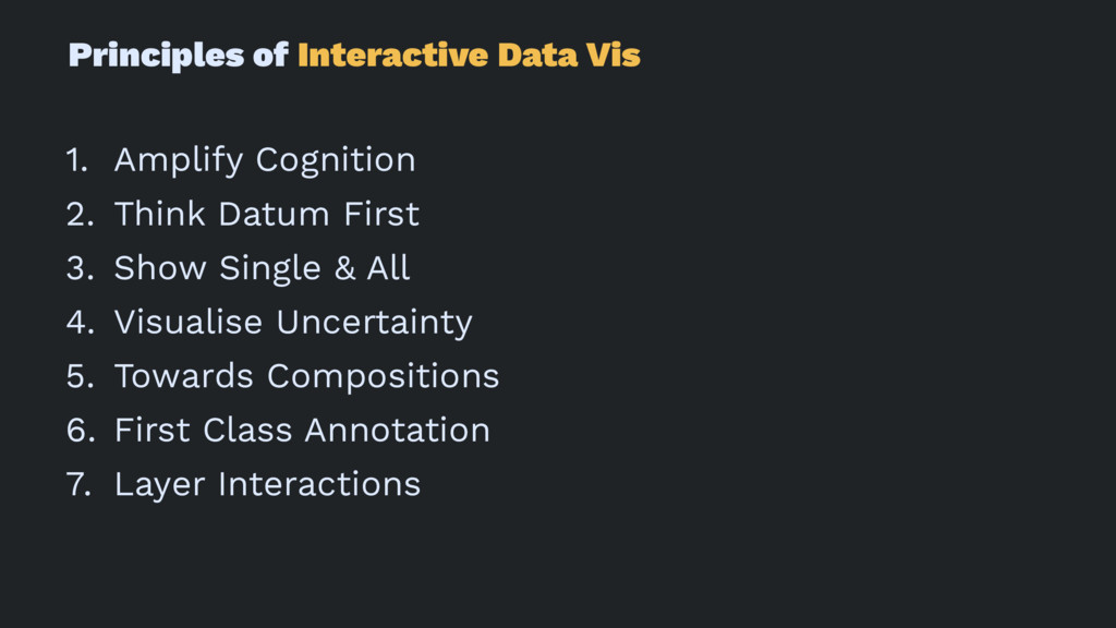 Principles of Interactive Data Vis 1. Amplify C...