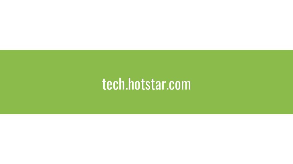 tech.hotstar.com