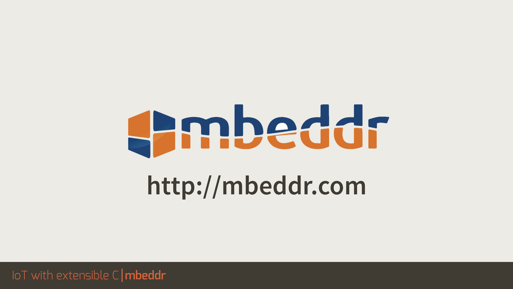 IoT with extensible C mbeddr http://mbeddr.com