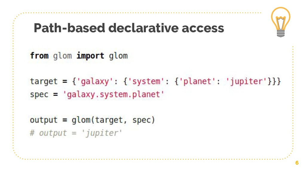 Path-based declarative access 6