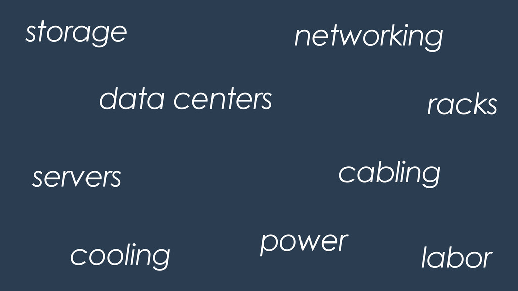 data centers power cooling cabling networking r...