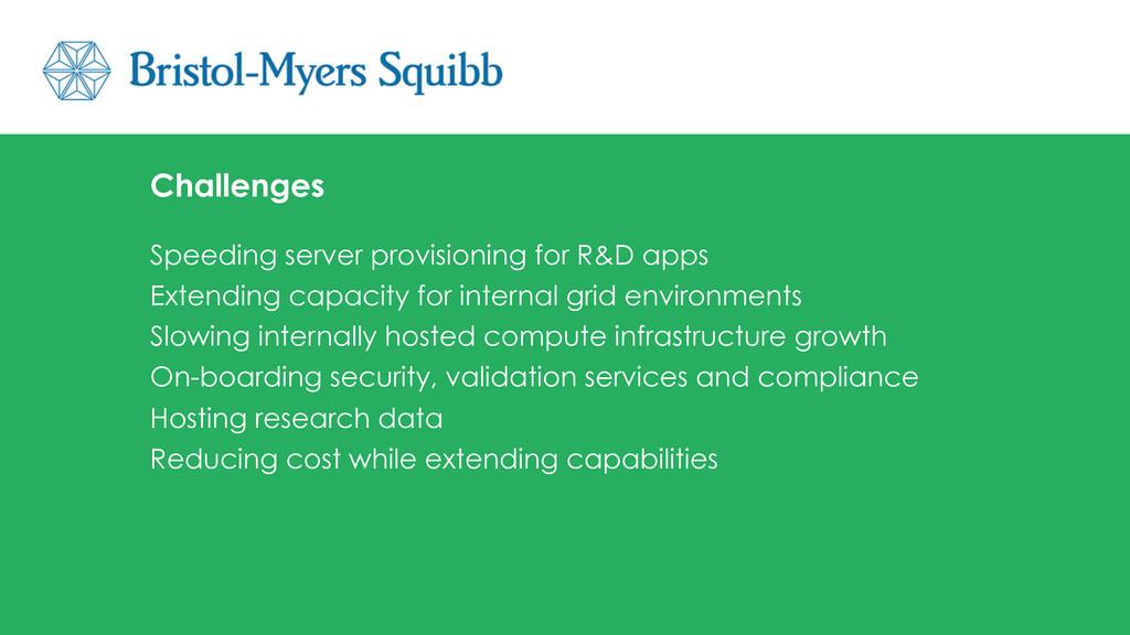 Speeding server provisioning for R&D apps Exten...