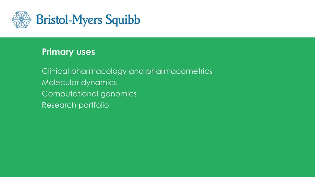 Clinical pharmacology and pharmacometrics Molec...