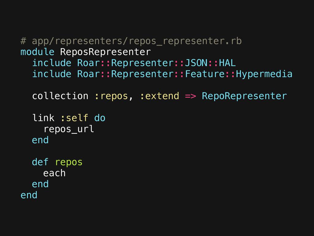 # app/representers/repos_representer.rb module ...