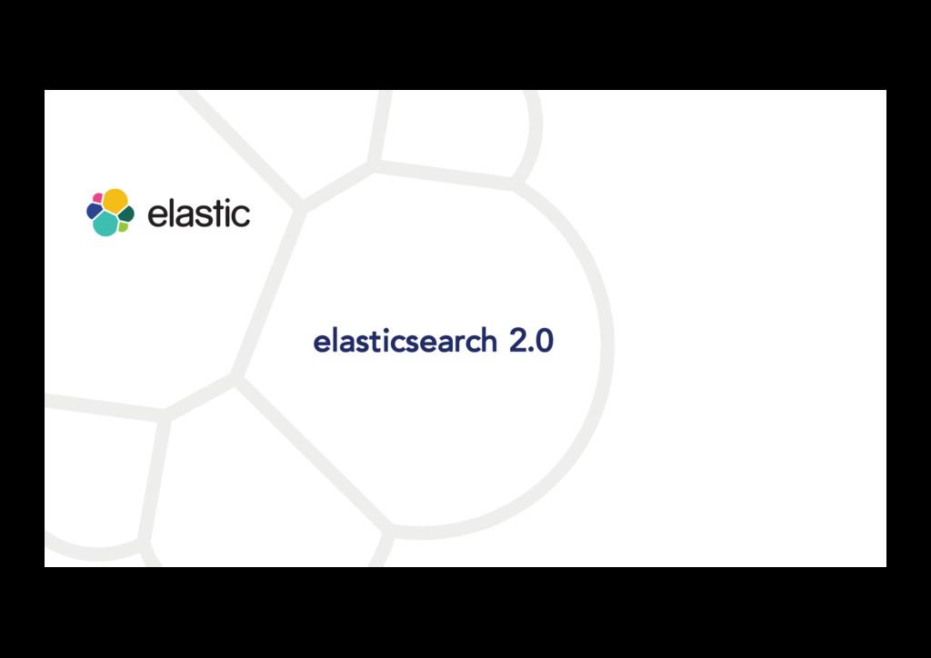 elasticsearch 2.0