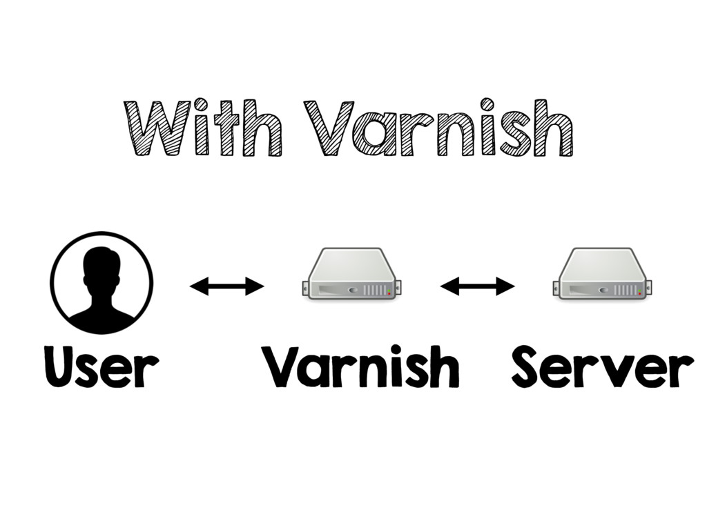With Varnish User Varnish Server