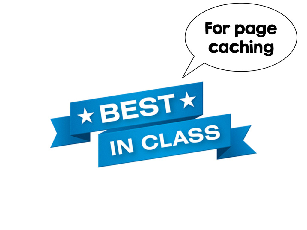 For page caching