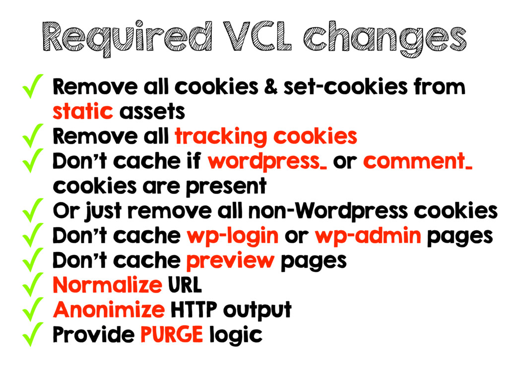 ✓ Remove all cookies & set-cookies from static ...