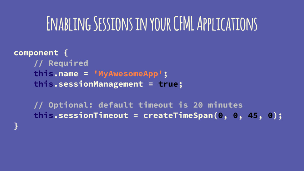 Enabling Sessions in your CFML Applications com...