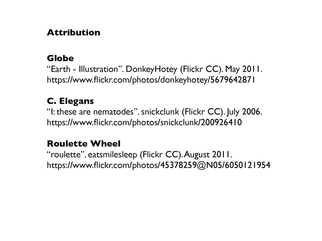 "Attribution Globe ""Earth - Illustration"". Donke..."