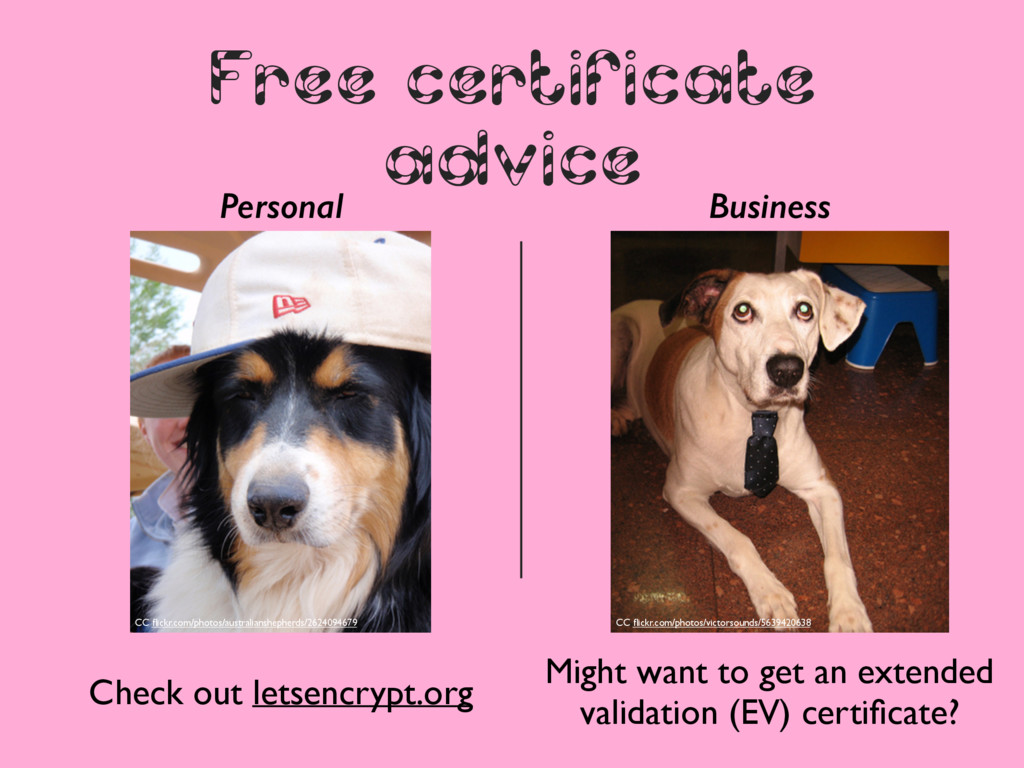 Free certificate advice Personal Business Might...