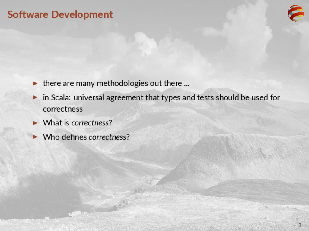 So ware Development ▶ there are many methodolog...