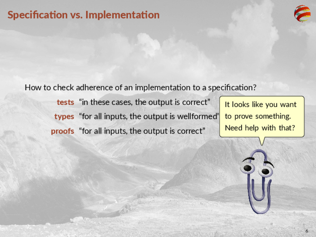 Specifica on vs. Implementa on How to check adhe...