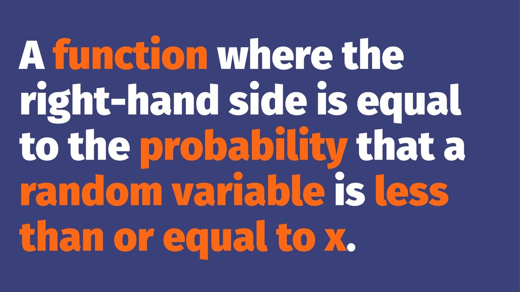 A function where the right-hand side is equal t...