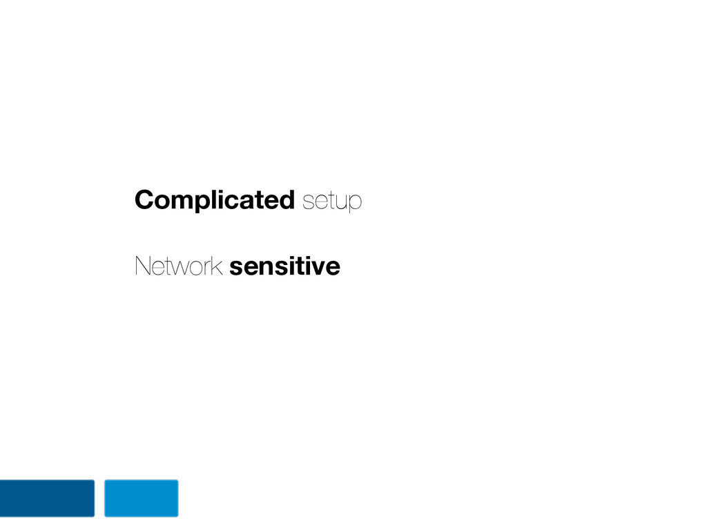 Complicated setup Network sensitive