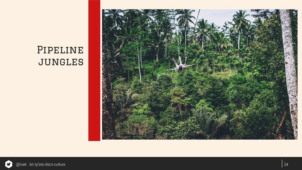 24 Pipeline jungles @ixek bit.ly/ato-docs-cultu...