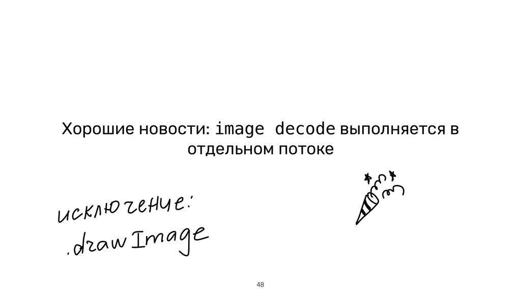 Хорошие новости: image decode выполняется в отд...