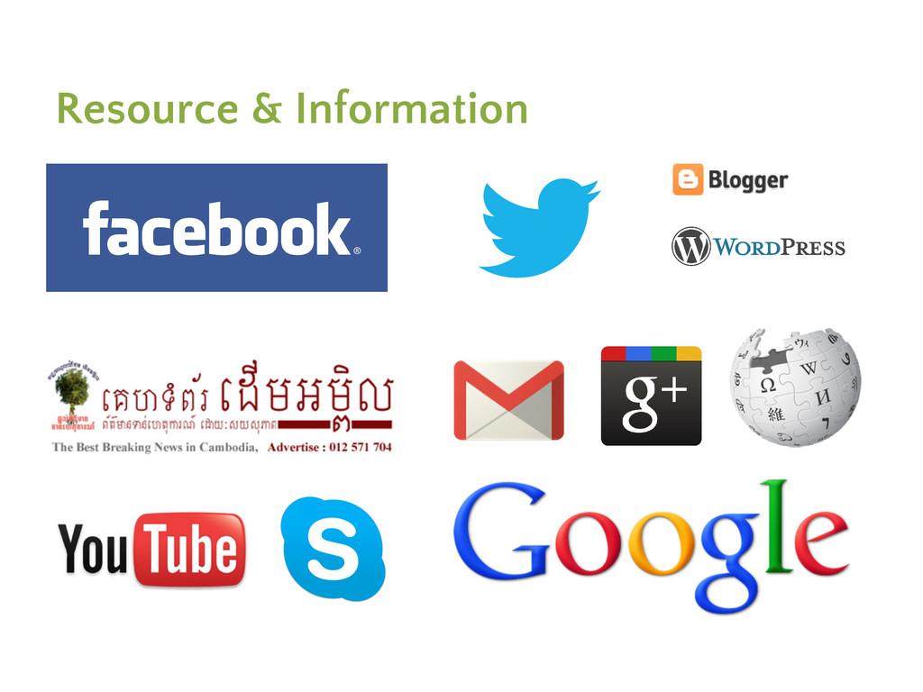 Resource & Information