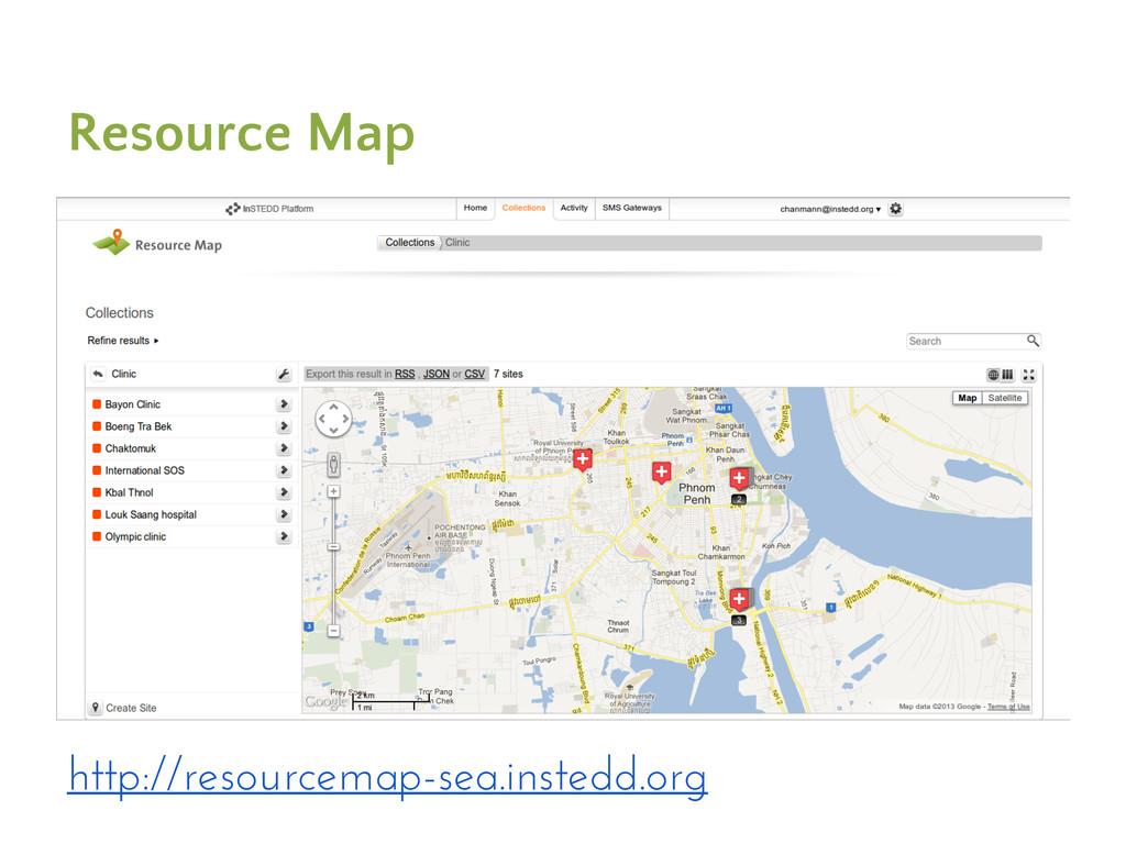 Resource Map http://resourcemap-sea.instedd.org