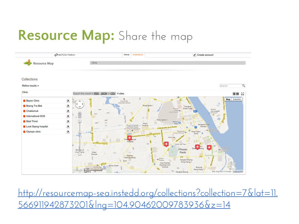 Resource Map: Share the map http://resourcemap-...